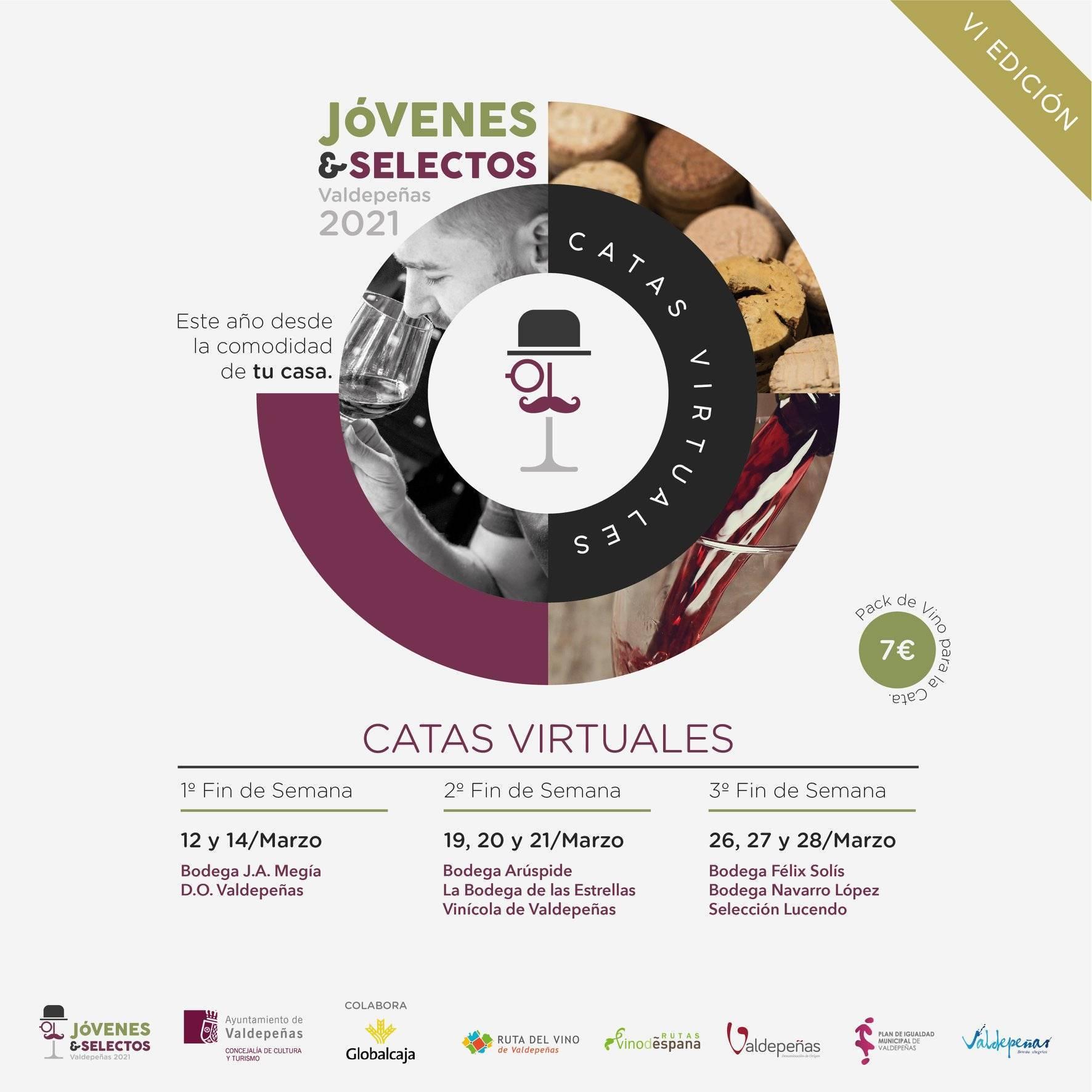 Catas virtuales (2021) - Valdepeñas (Ciudad Real)