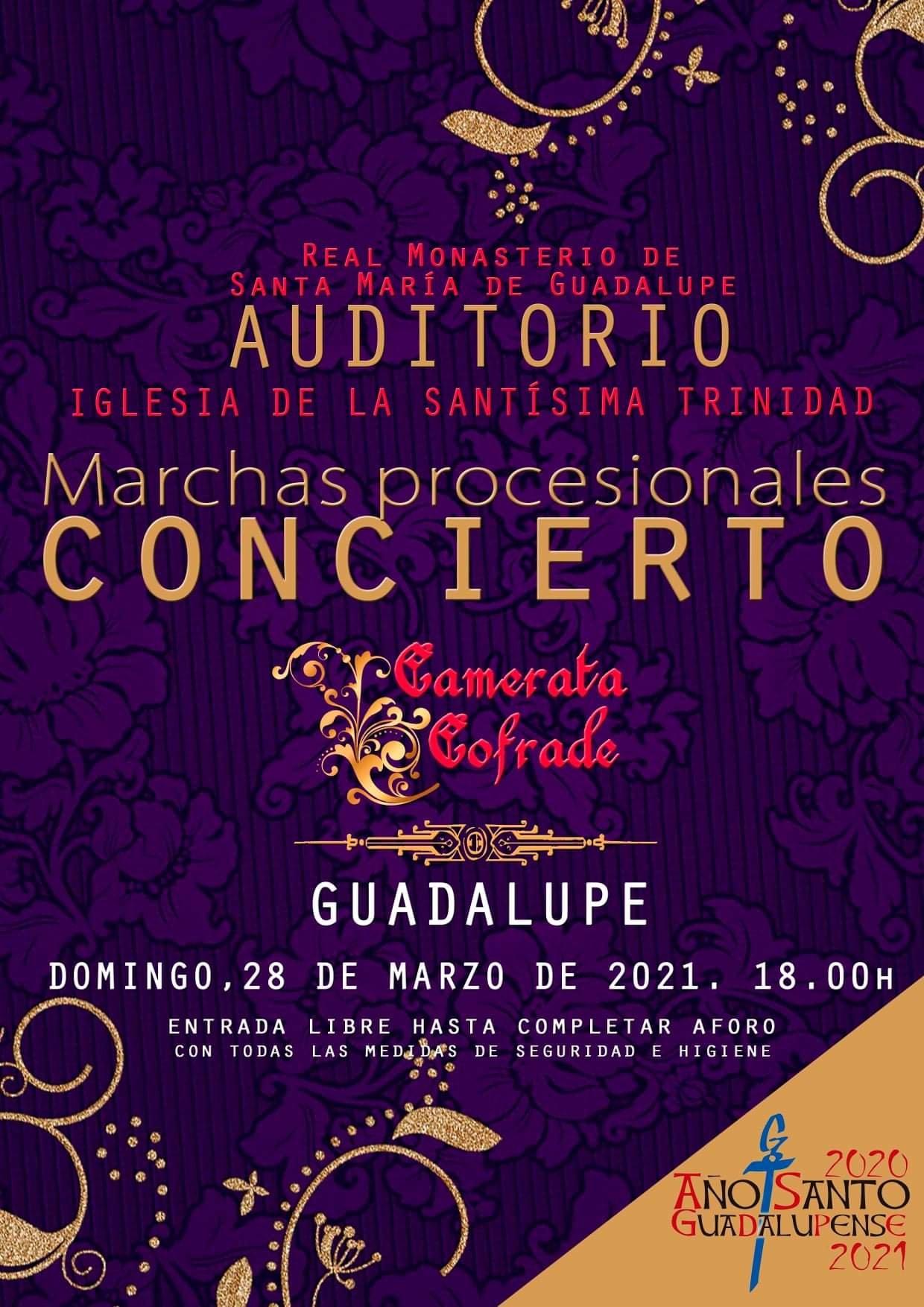 Concierto de marchas procesionales (2021) - Guadalupe (Cáceres)