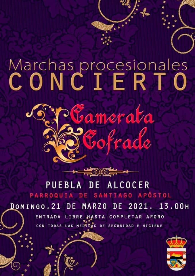 Concierto de marchas procesionales (2021) - Puebla de Alcocer (Badajoz)