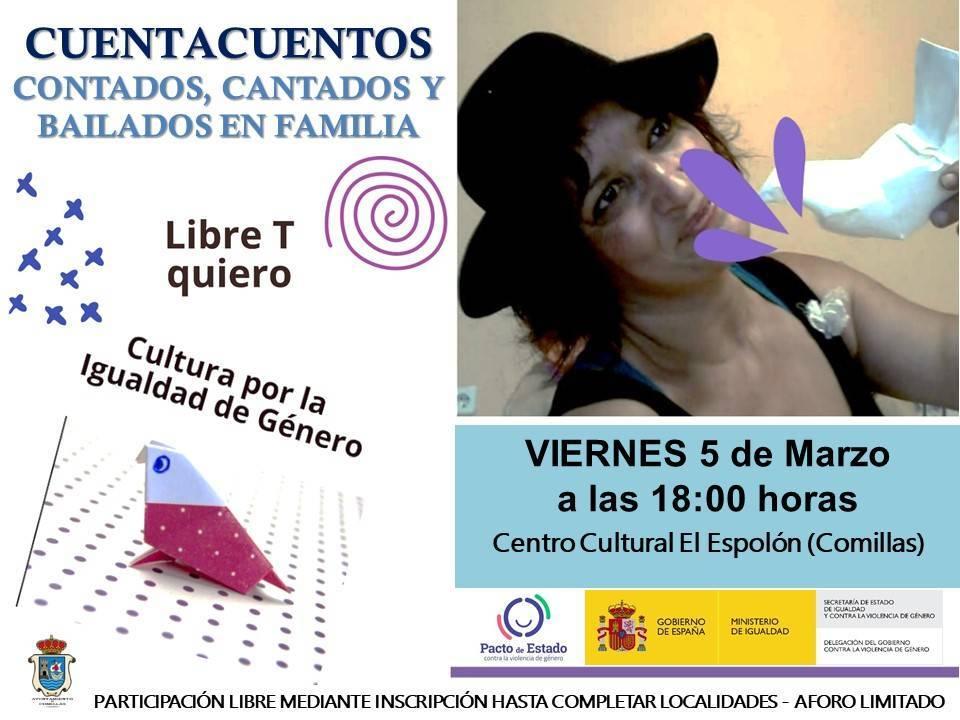 Cuentacuentos (marzo 2021) - Comillas (Cantabria)