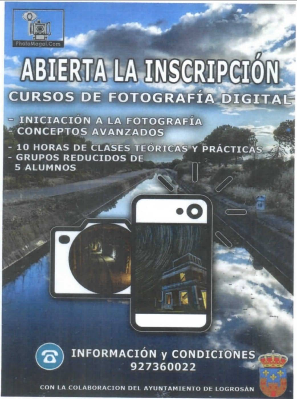 Curso de fotografía digital (2021) - Logrosán (Cáceres)