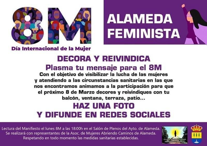 Día Internacional de la Mujer (2021) - Alameda (Málaga)