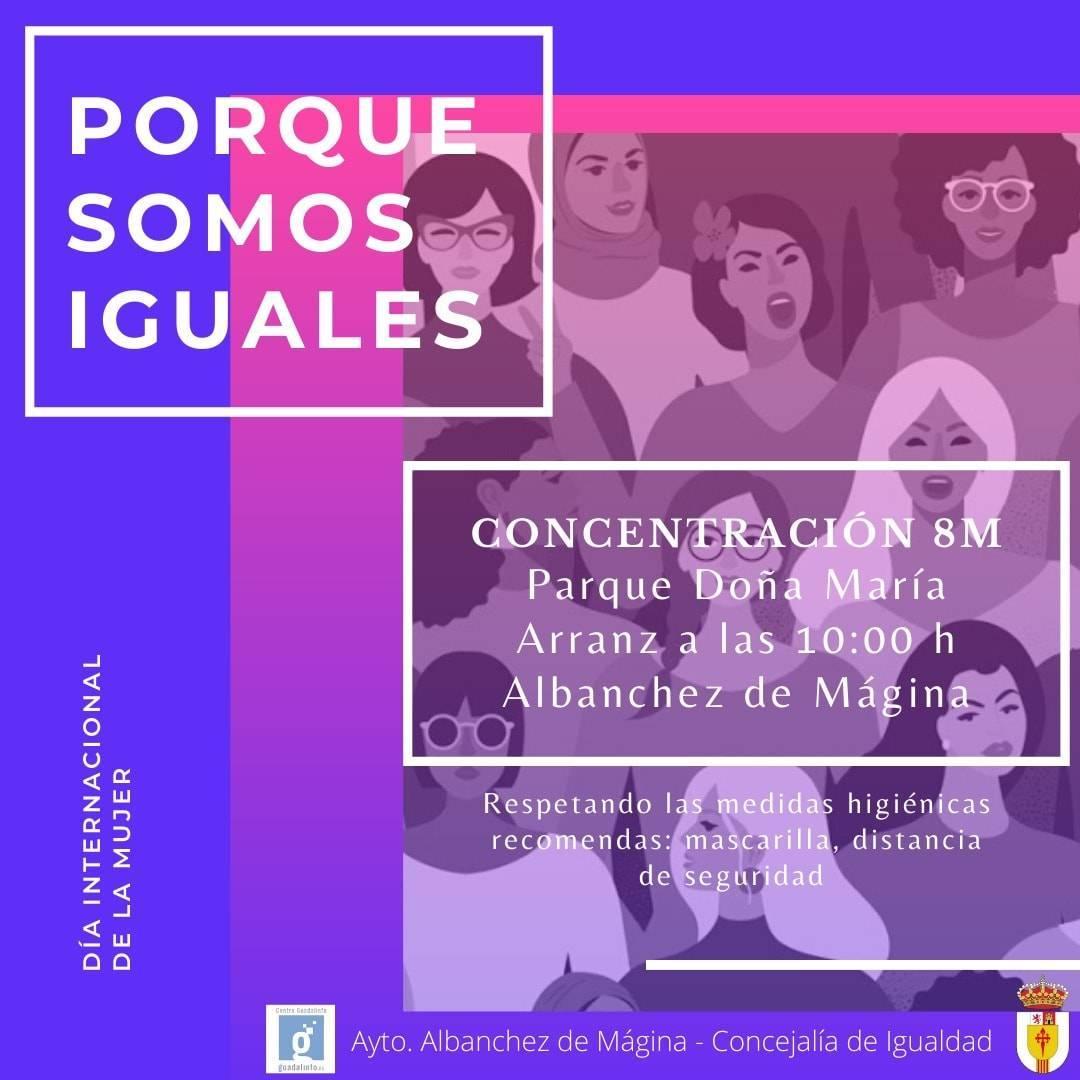 Día Internacional de la Mujer (2021) - Albanchez de Mágina (Jaén)