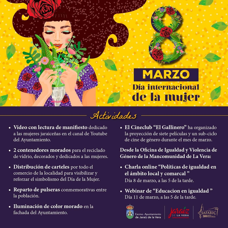 Día Internacional de la Mujer (2021) - Jaraíz de la Vera (Cáceres)
