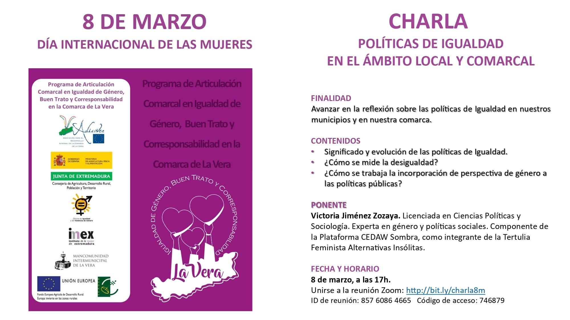 Día Internacional de la Mujer (2021) - Viandar de la Vera (Cáceres) 1