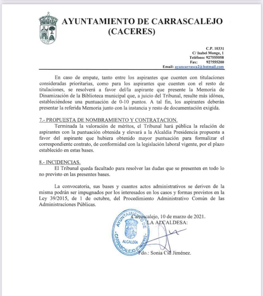 Dinamizador sociocultural (2021) - Carrascalejo (Cáceres) 3