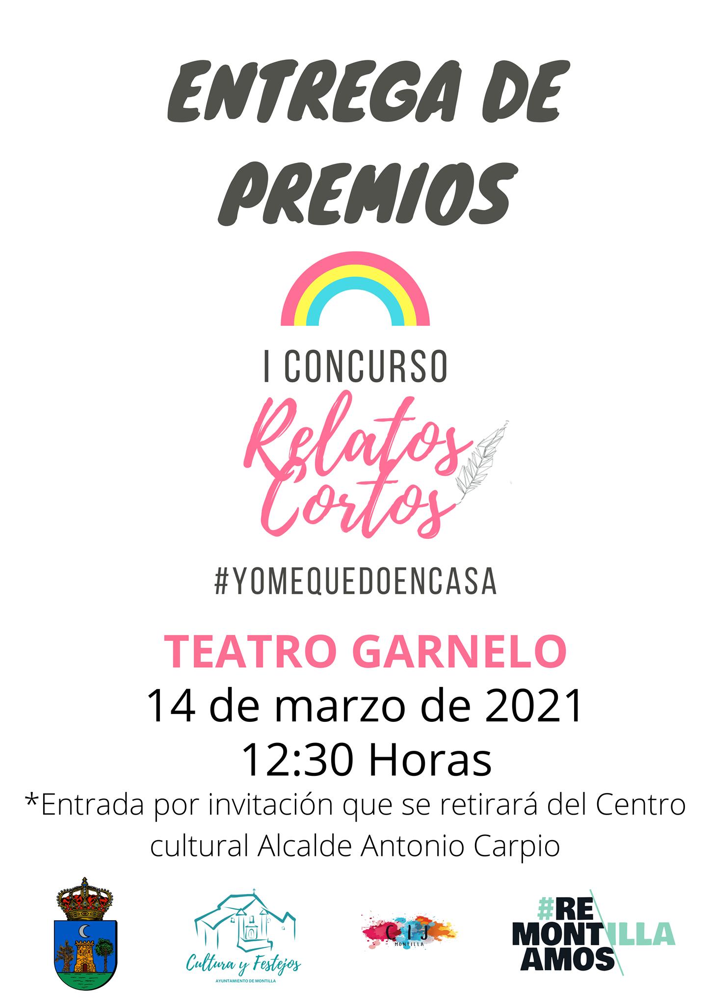 Entrega de premios del I concurso de relatos cortos - Montilla (Córdoba)