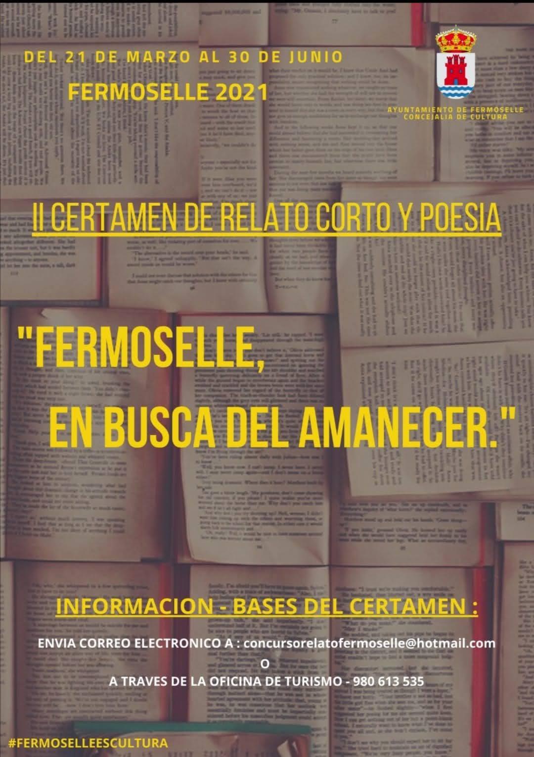II certamen de relato corto y poesía - Fermoselle (Zamora)