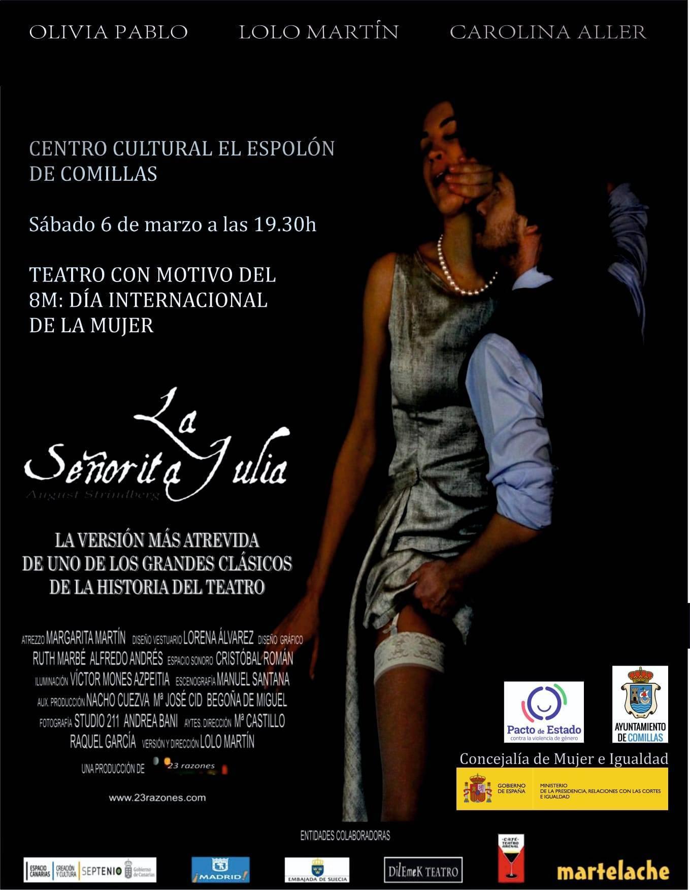 La señorita Julia (2021) - Comillas (Cantabria)