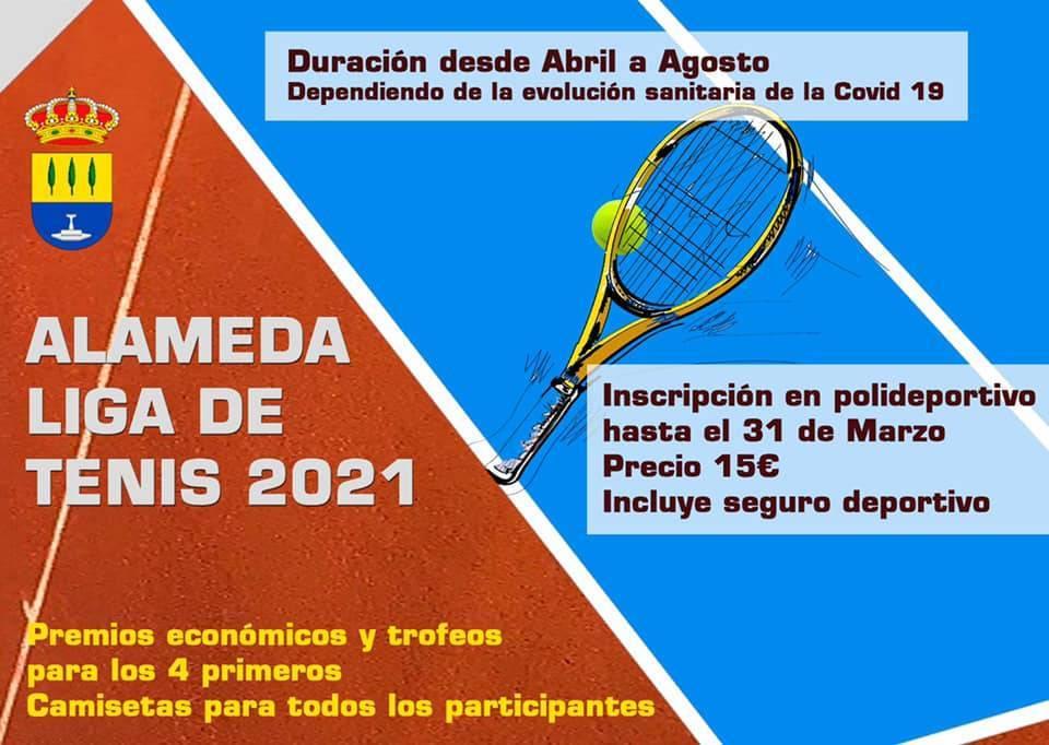 Liga de tenis (2021) - Alameda (Málaga)