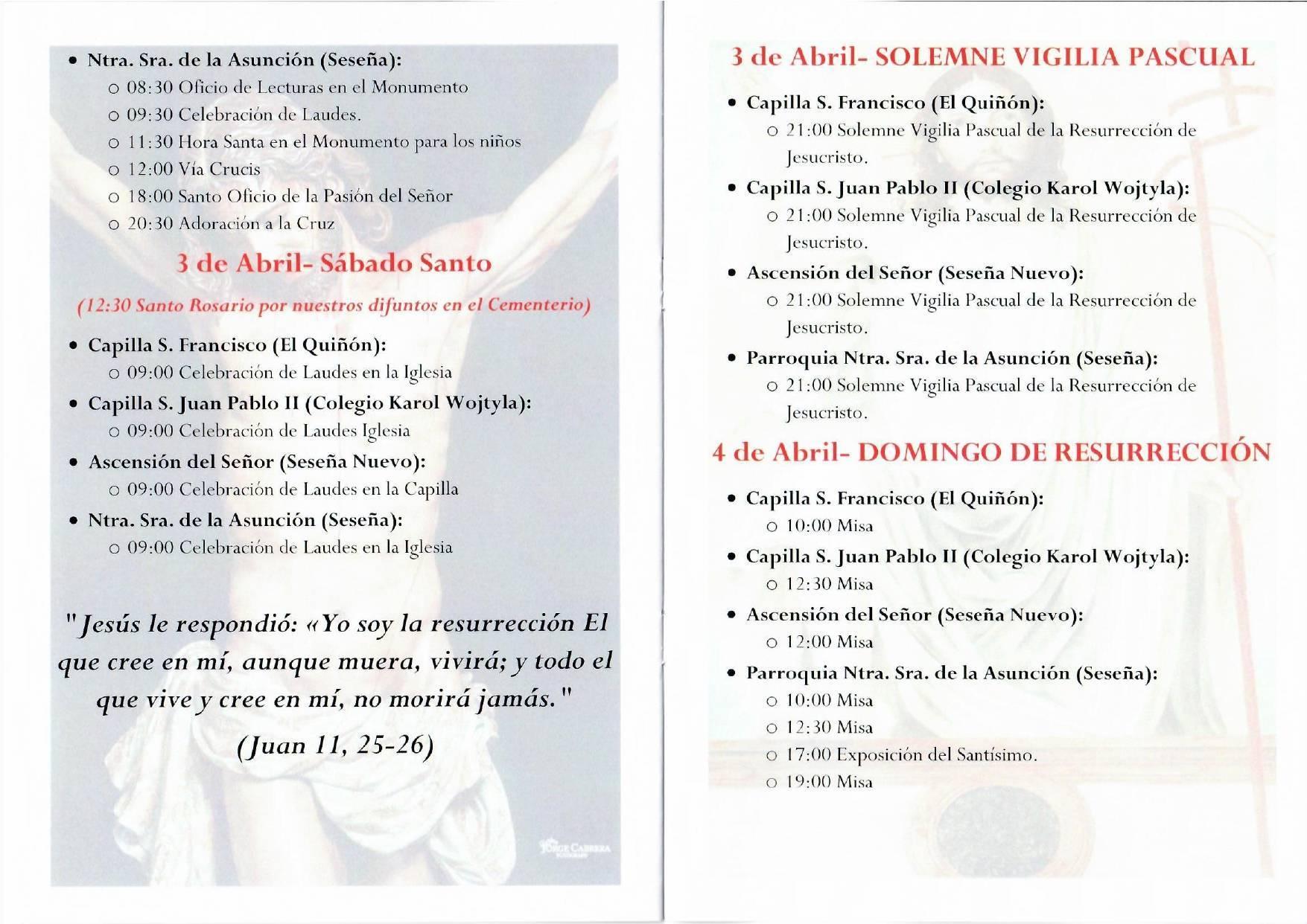 Programa de Semana Santa (2021) - Seseña (Toledo) 3