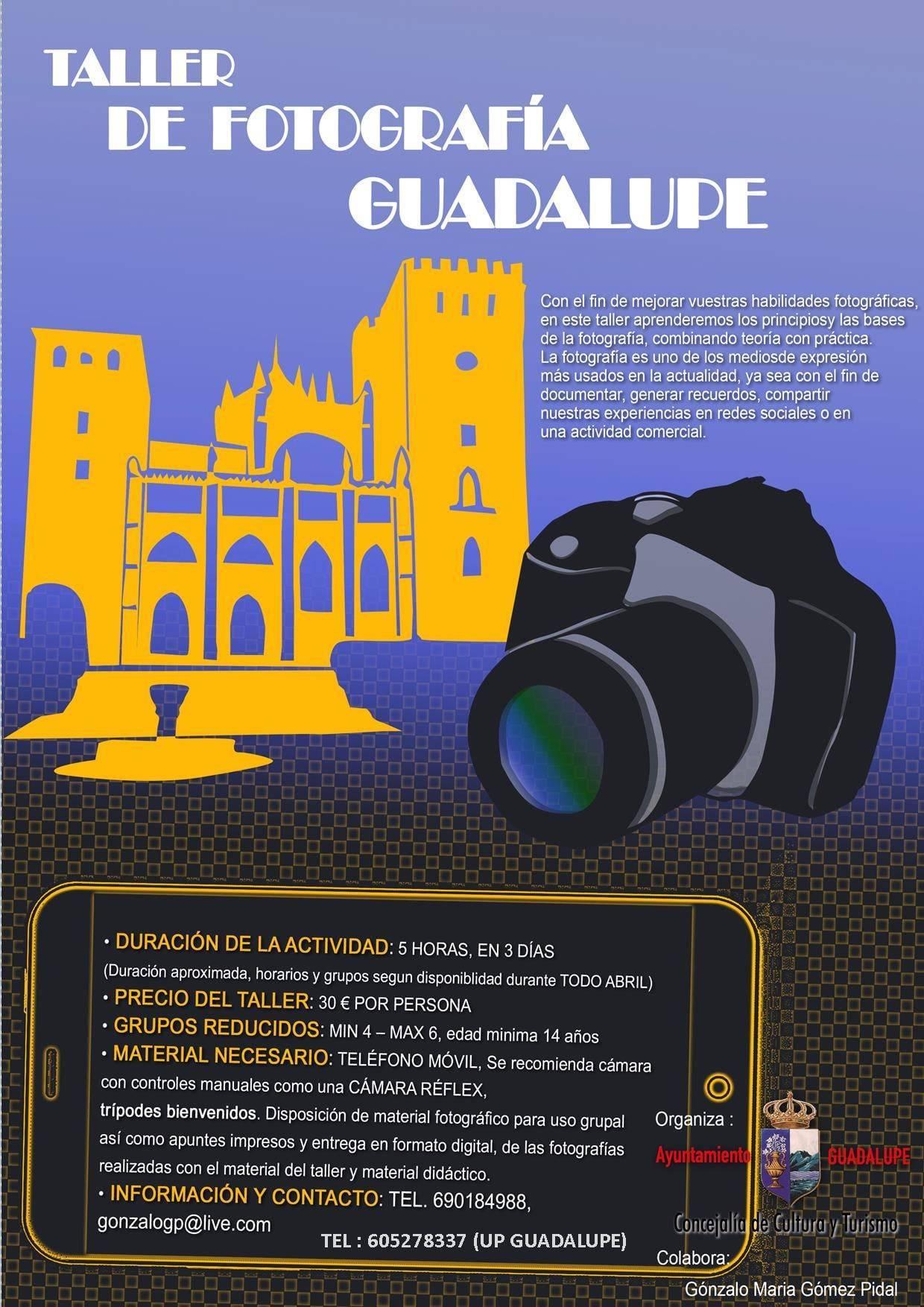 Taller de fotografía (2021) - Guadalupe (Cáceres)