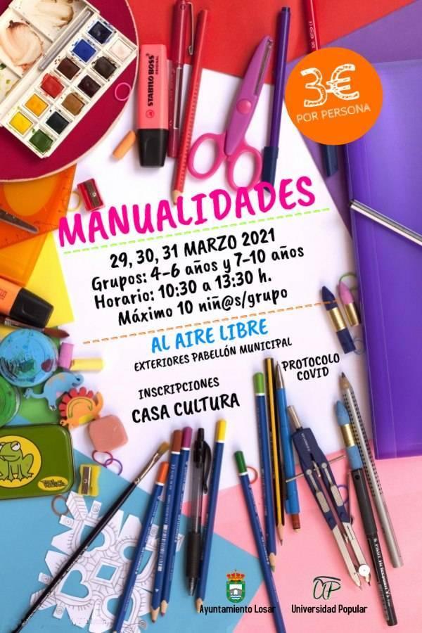 Taller de manualidades (marzo 2021) - Losar de la Vera (Cáceres)