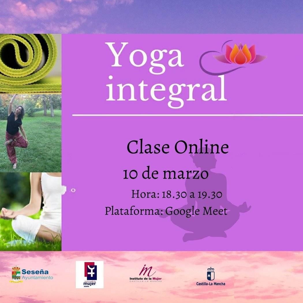 Taller de yoga integral online (marzo 2021) - Seseña (Toledo)
