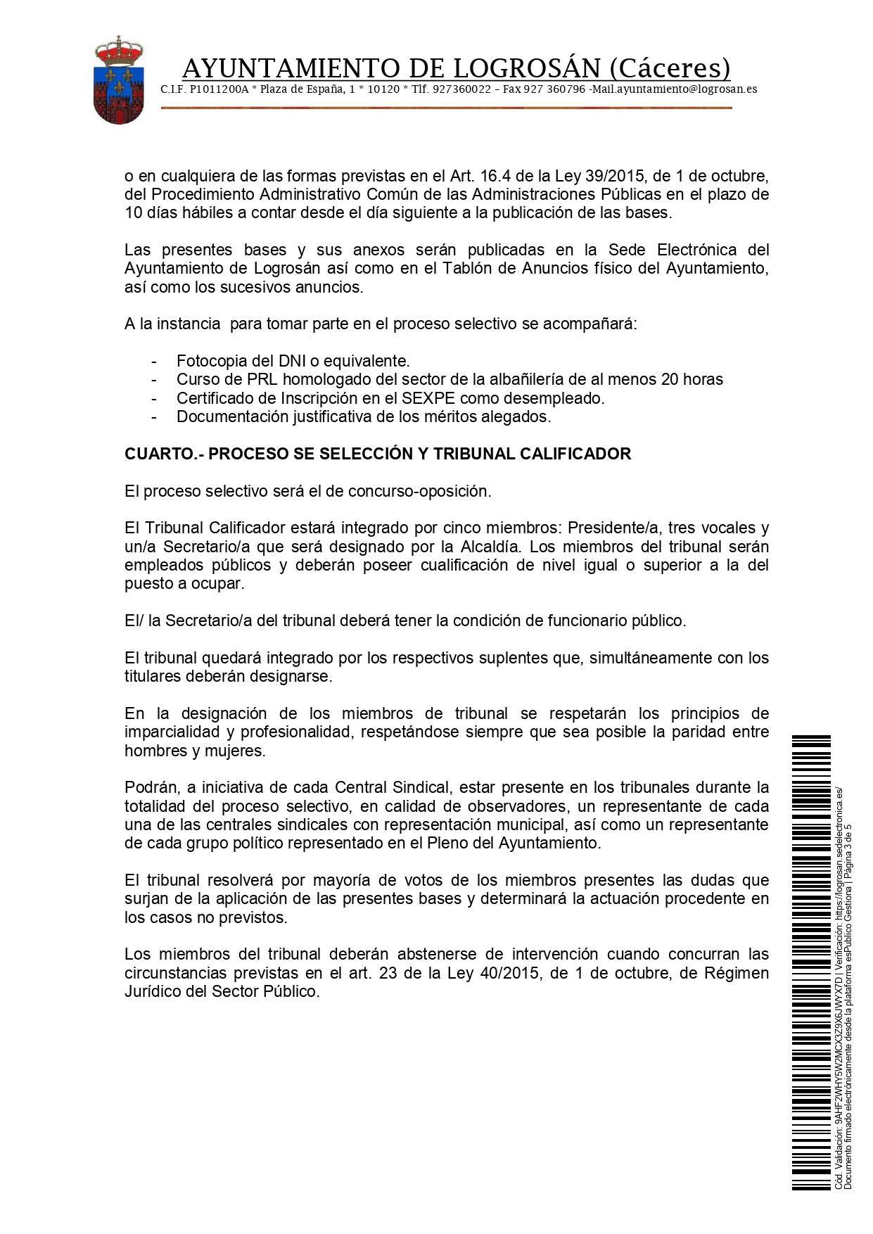2 oficiales de construcción (2021) - Logrosán (Cáceres) 3