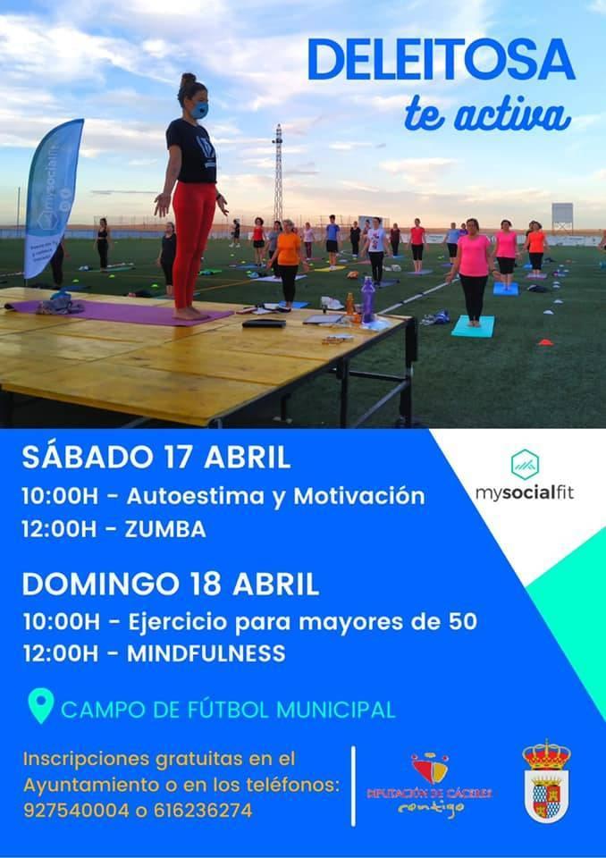 Actividades deportivas (abril 2021) - Deleitosa (Cáceres)