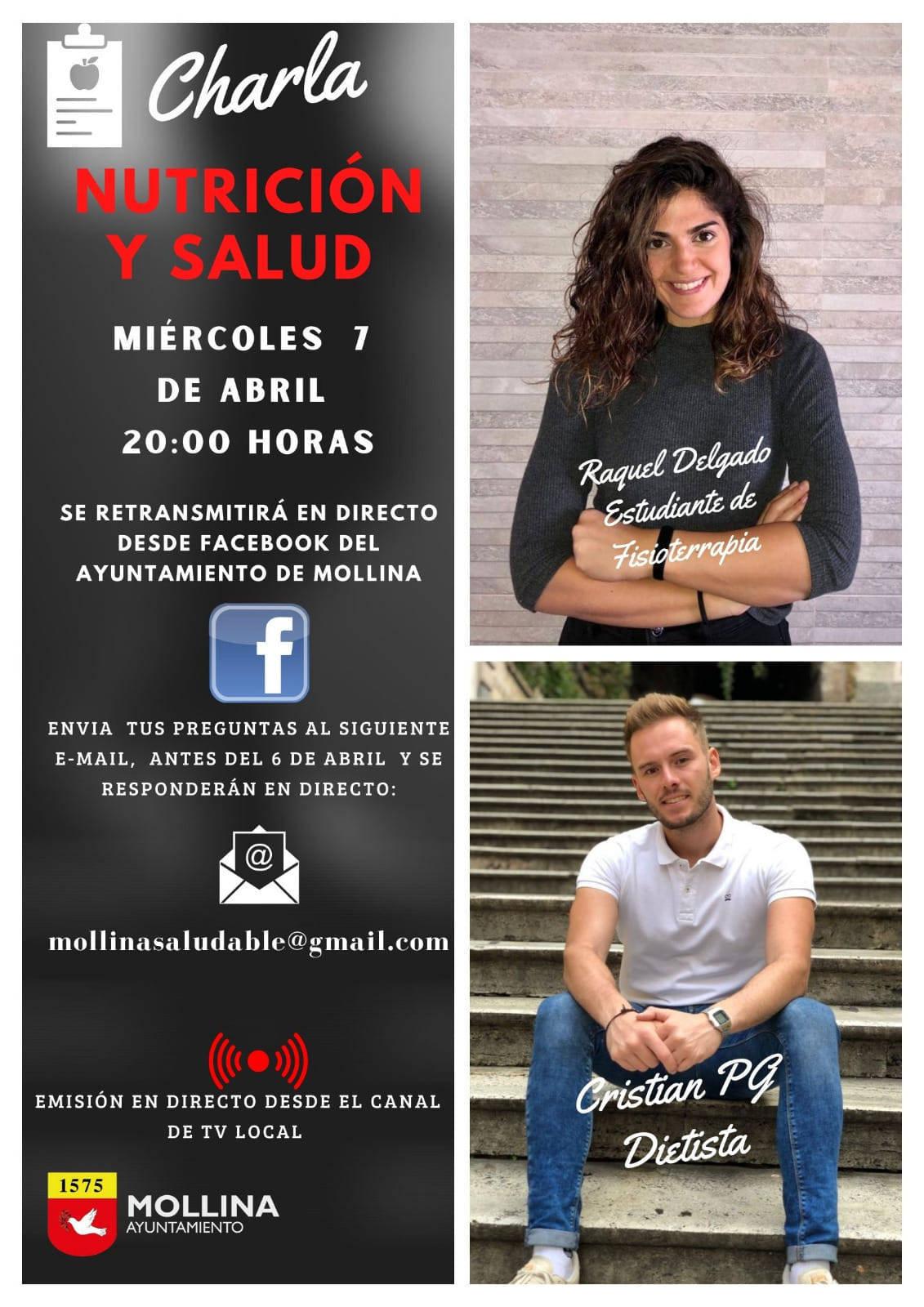 Charla de nutrición y salud (2021) - Mollina (Málaga)