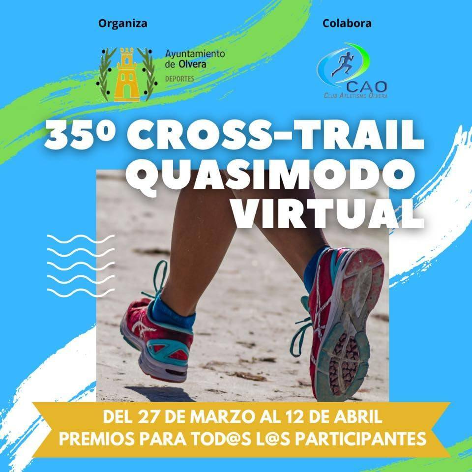 Cross-Trail Quasimodo virtual (2021) - Olvera (Cádiz) 1