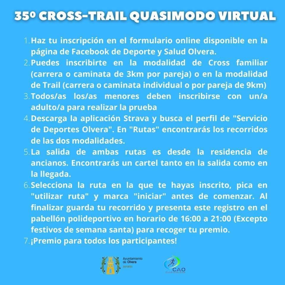 Cross-Trail Quasimodo virtual (2021) - Olvera (Cádiz) 2