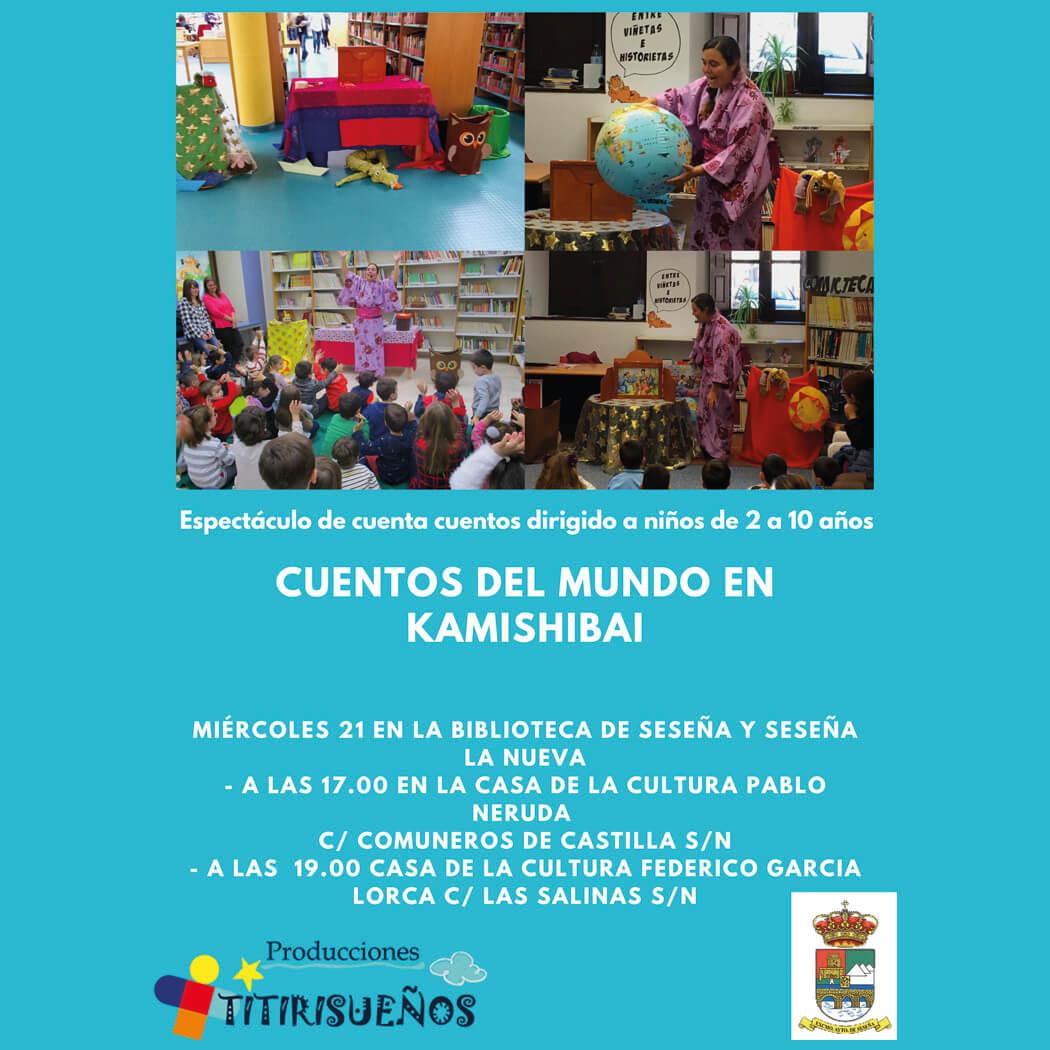 Cuentos del mundo en Kamishibai (2021) - Seseña (Toledo) y Seseña Nuevo (Toledo)