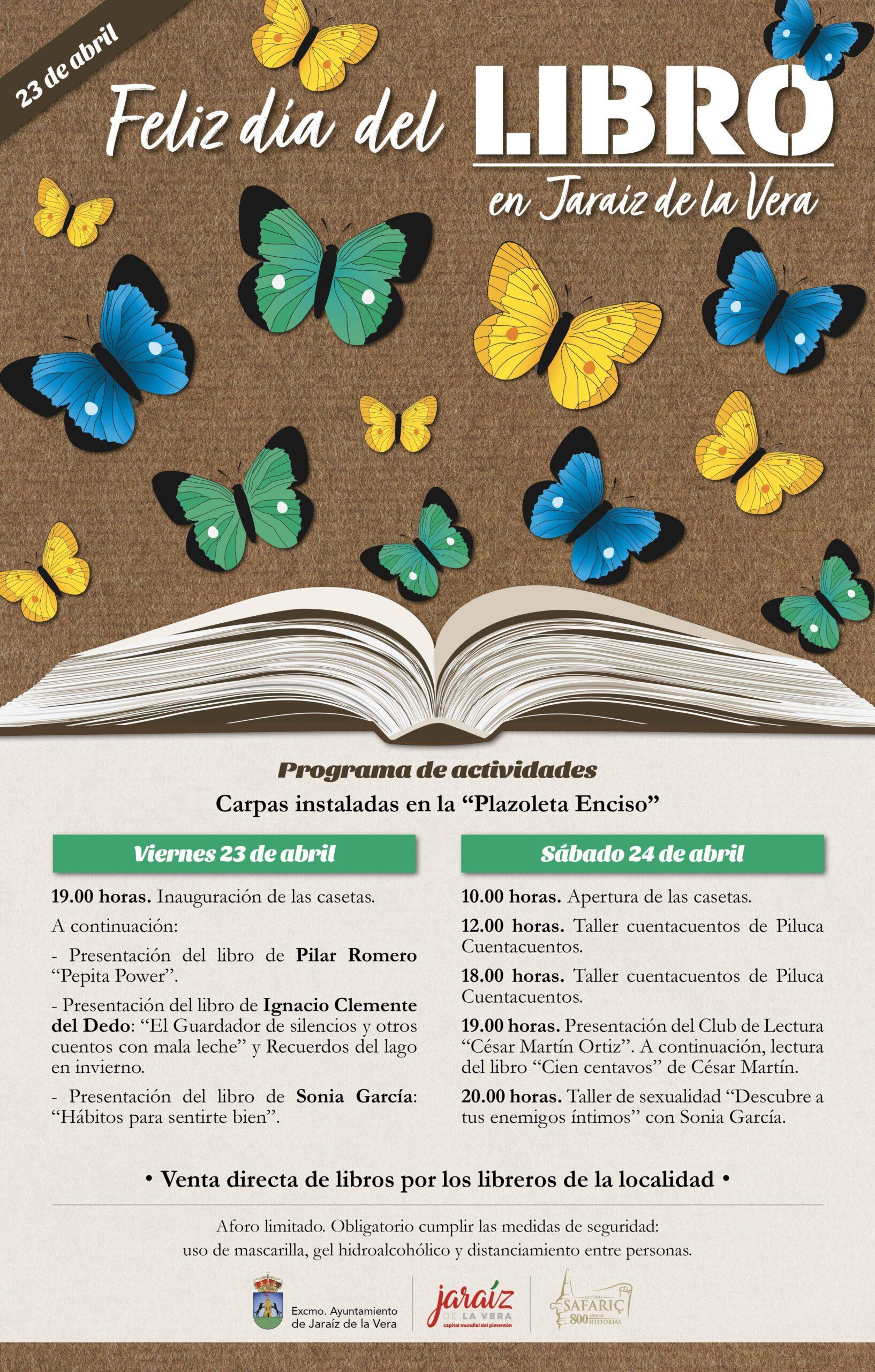 Día del Libro (2021) - Jaraíz de la Vera (Cáceres)