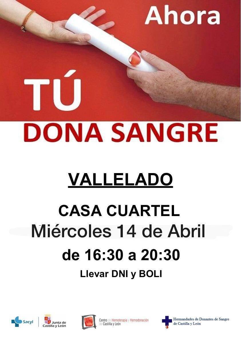 Donación de sangre (abril 2021) - Vallelado (Segovia)