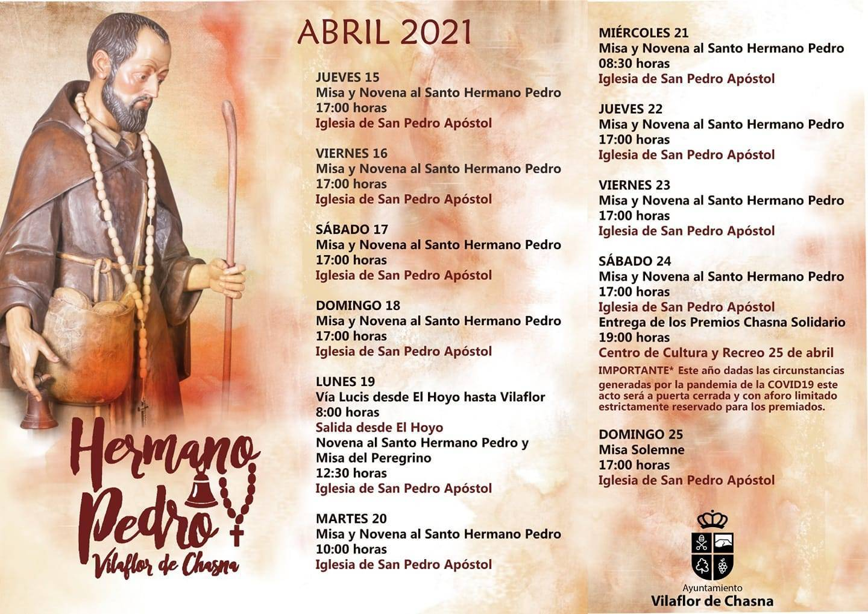 Fiestas en honor al Santo Hermano Pedro (2021) - Vilaflor de Chasna (Santa Cruz de Tenerife)