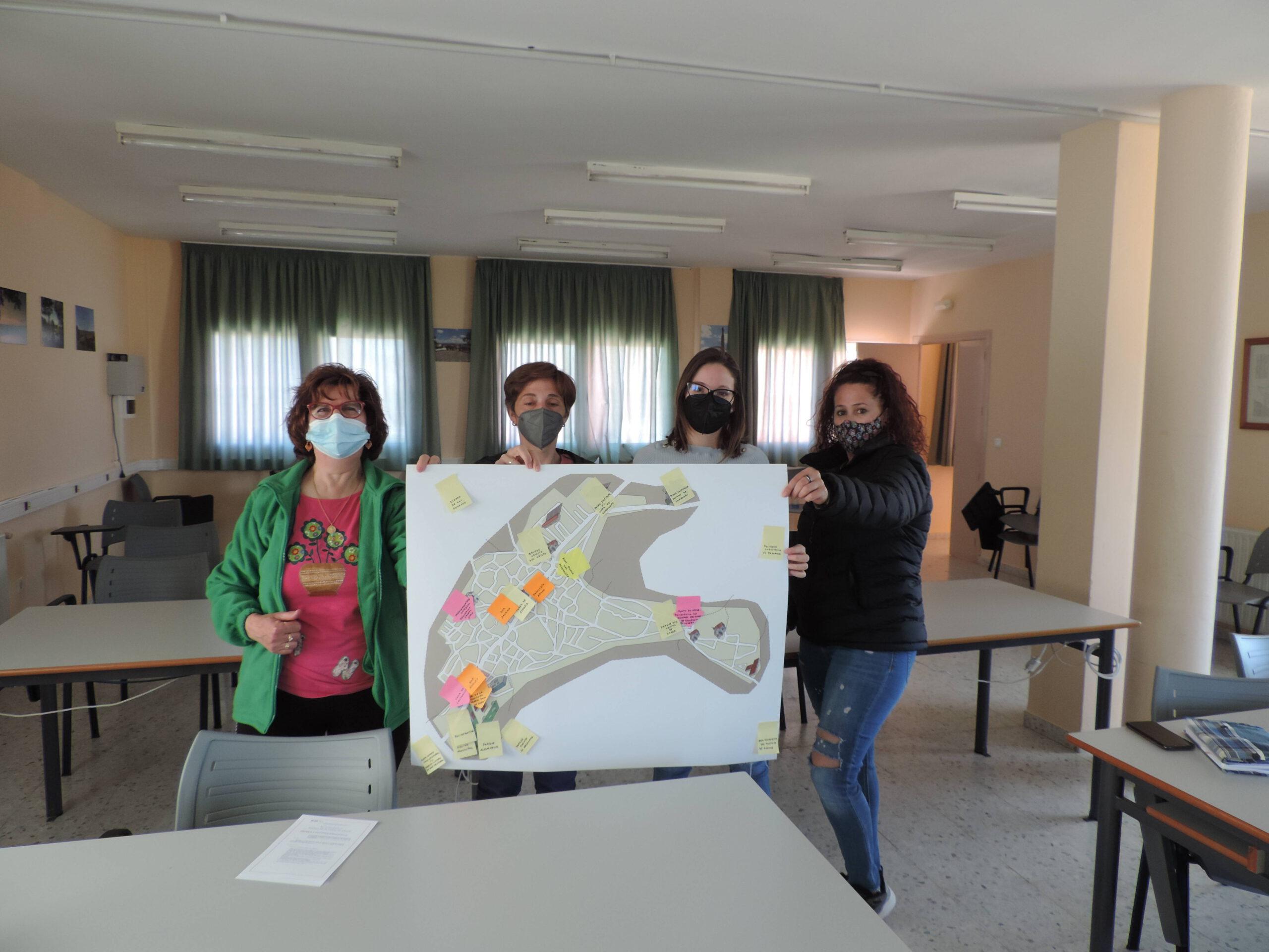 Guadalupe (Cáceres) y Logrosán (Cáceres) mapean los recursos de bienestar y salud de sus comunidades 1