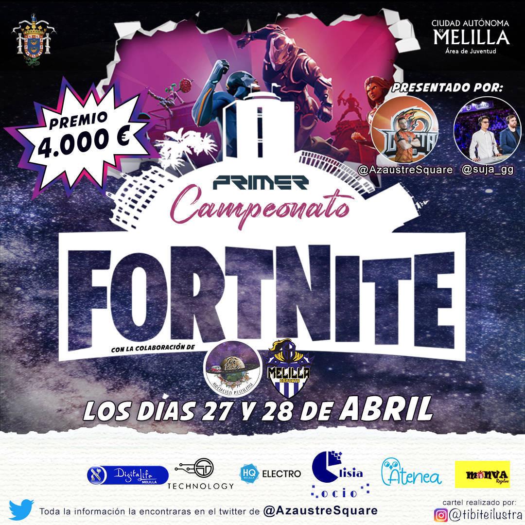 I campeonato de Fortnite - Melilla