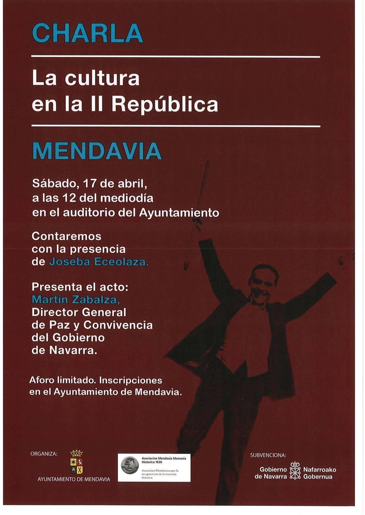 La cultura en la II República (2021) - Mendavia (Navarra)