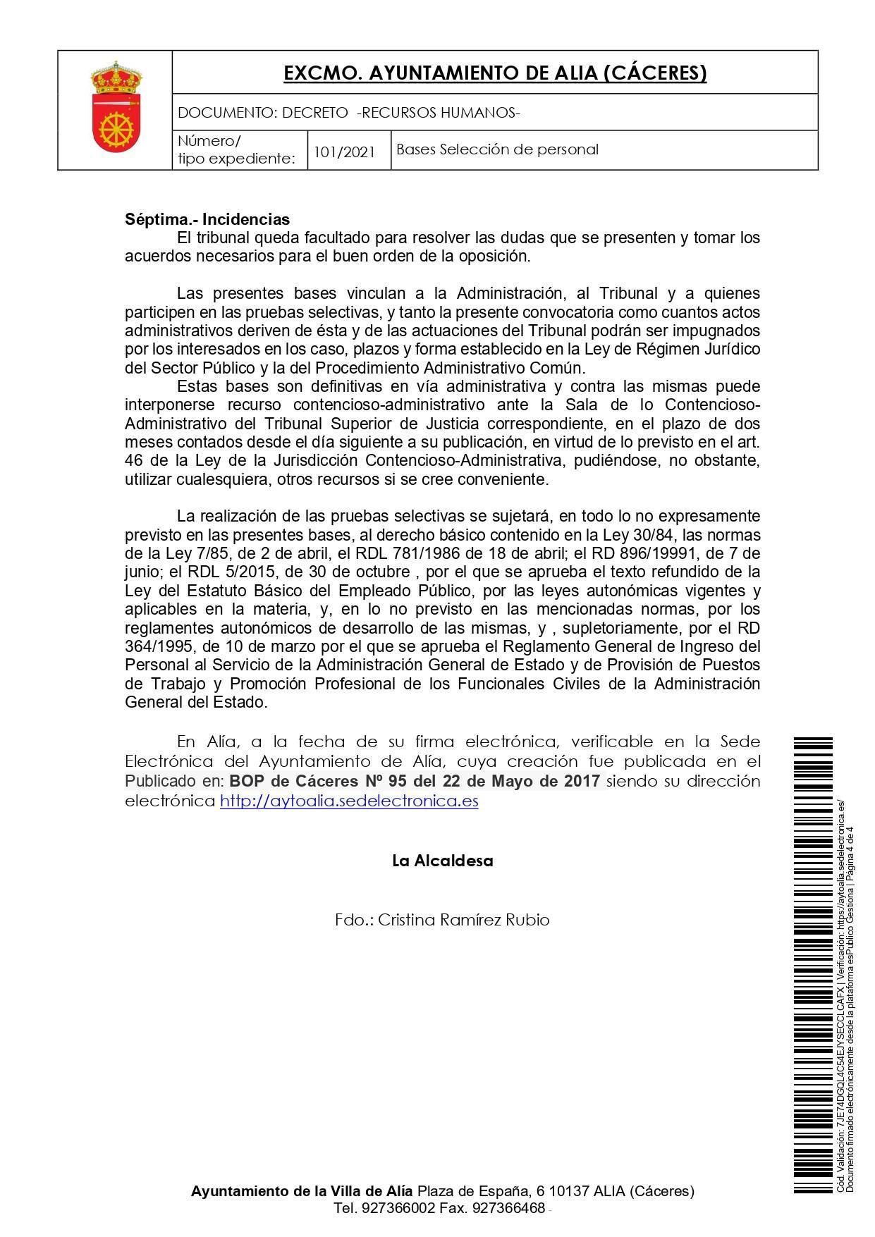 Peón de servicios múltiples (2021) - La Calera (Cáceres) 4