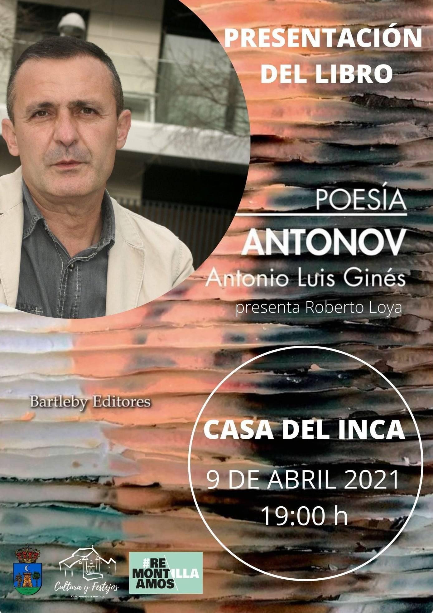 Presentación del libro Antonov (2021) - Montilla (Córdoba)