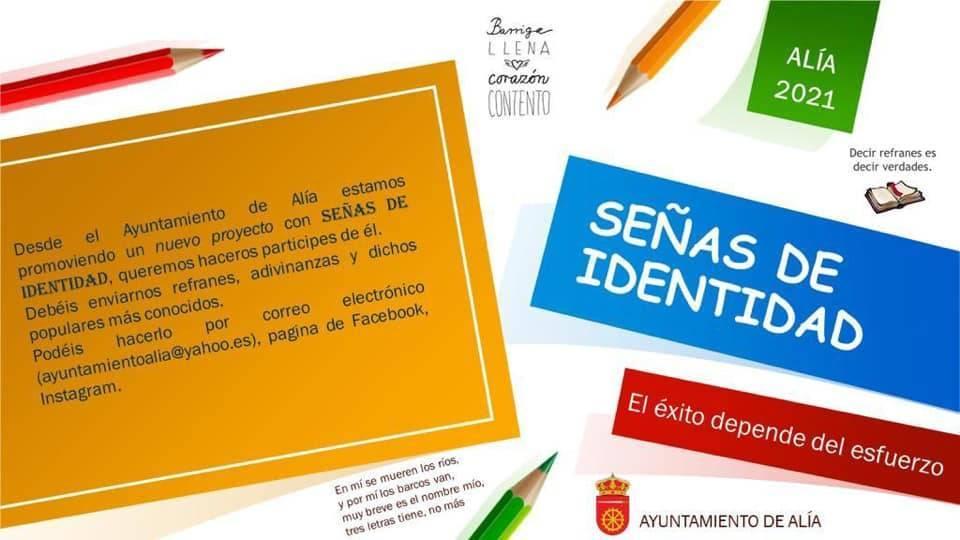 Proyecto Señas de identidad (2021) - Alía (Cáceres)