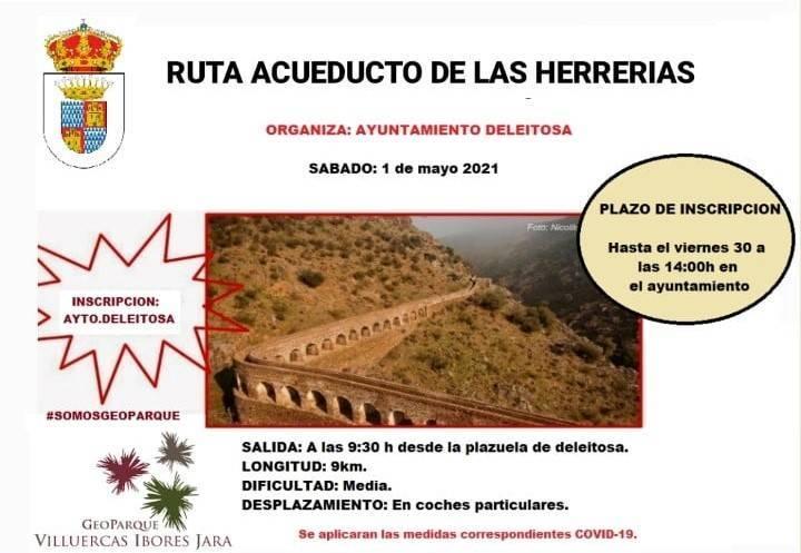 Ruta al acueducto de las Herrerías (mayo 2021) - Deleitosa (Cáceres)