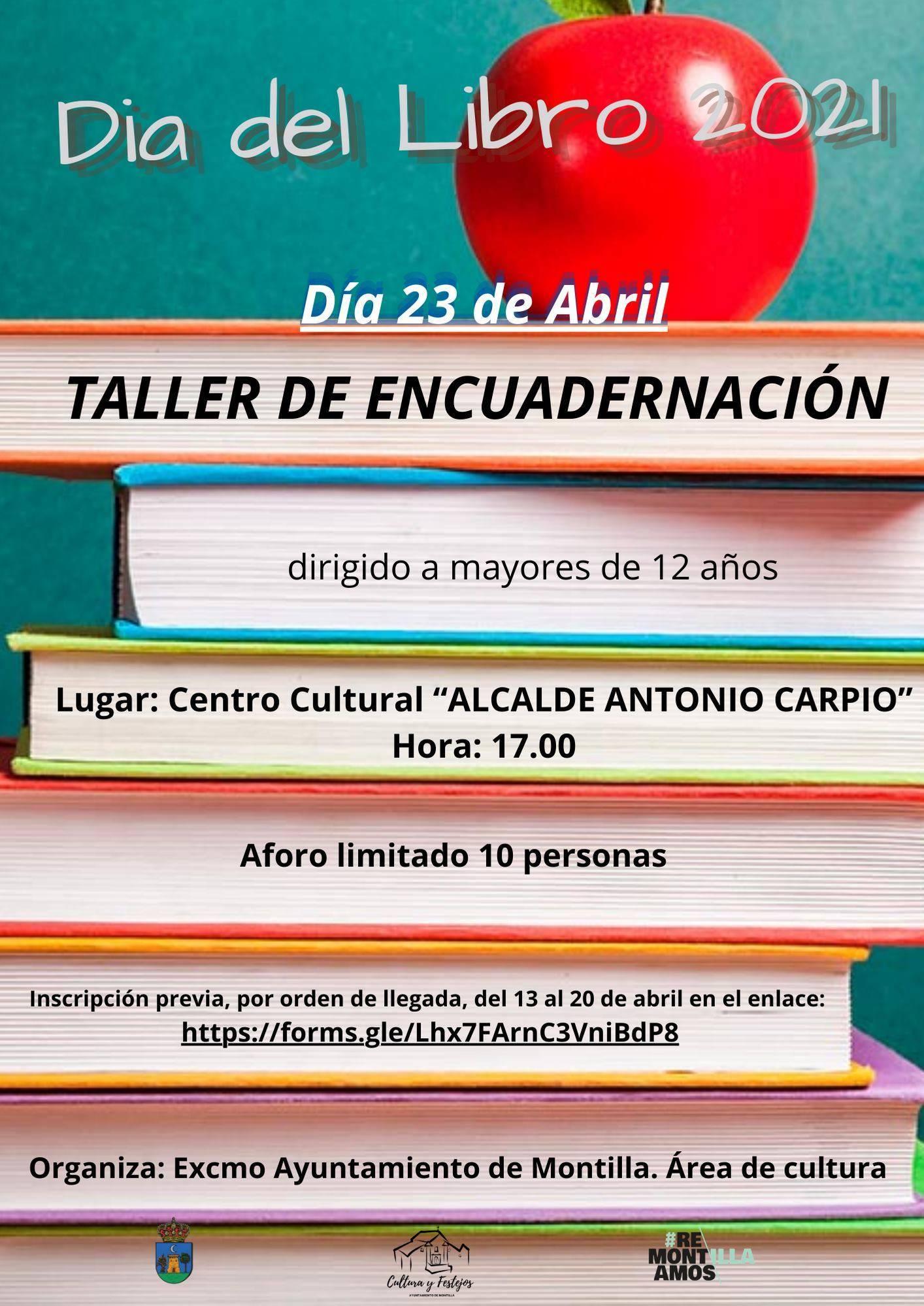 Taller de encuadernación (2021) - Montilla (Córdoba)