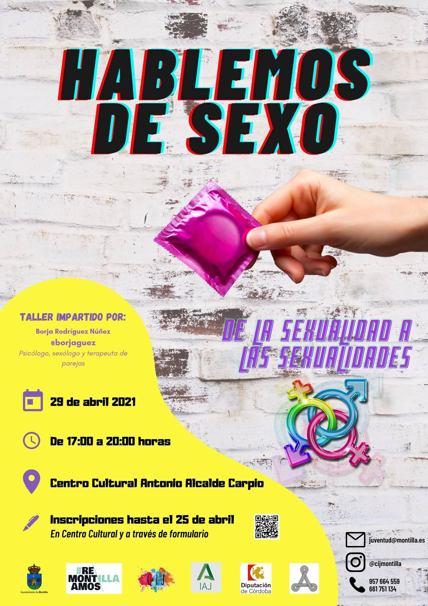 Taller de la sexualidad a las sexualidades (2021) - Montilla (Córdoba)