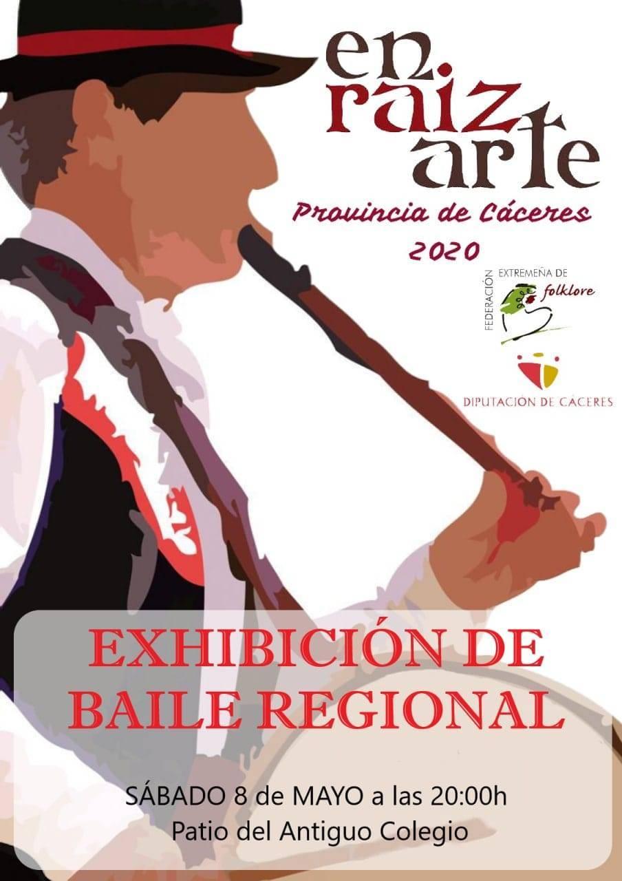 Exhibición de baile regional (2021) - Cañamero (Cáceres)