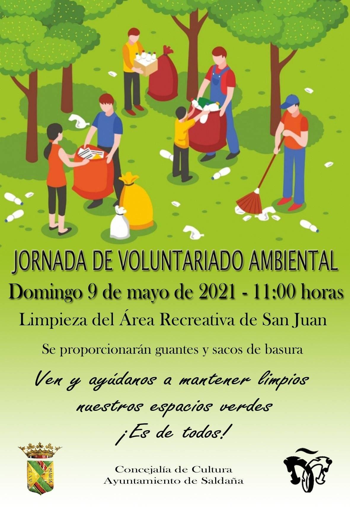 Jornada de voluntariado ambiental (mayo 2021) - Saldaña (Palencia)