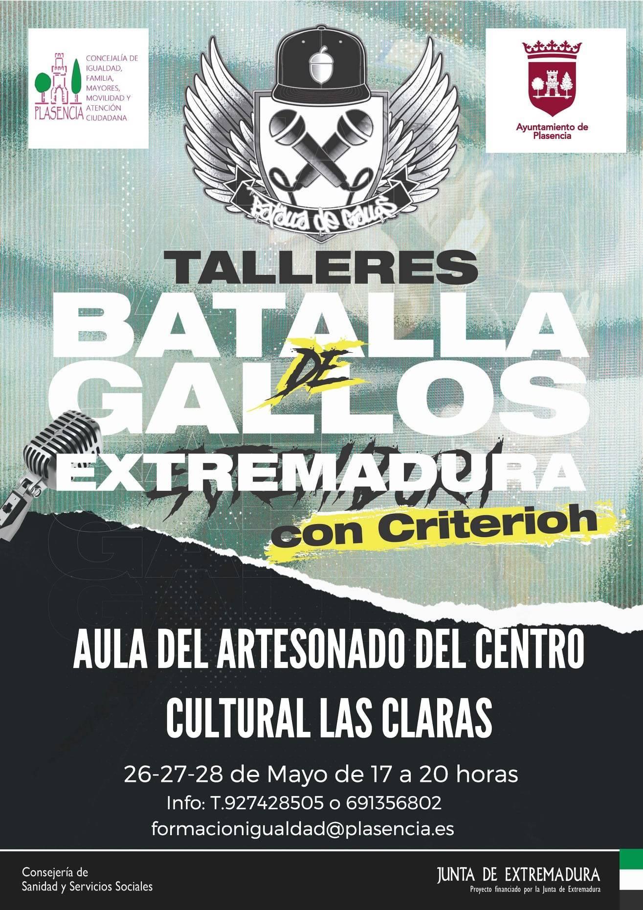 Taller de batallas de gallos (2021) - Plasencia (Cáceres)