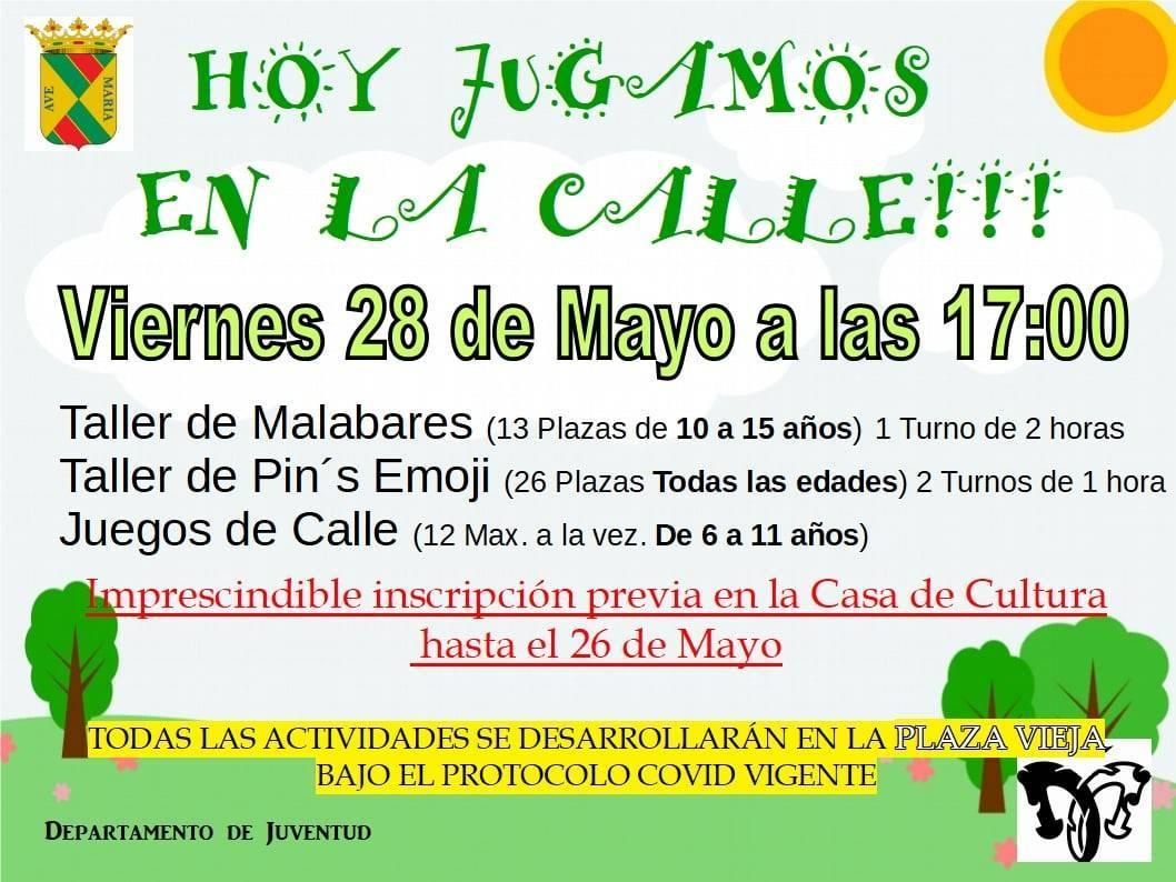 Taller de malabares y pines de emojis (mayo 2021) - Saldaña (Palencia)