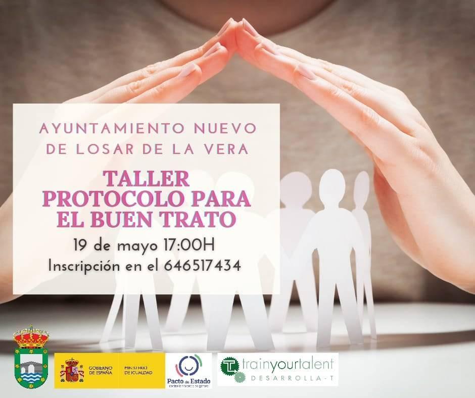 Taller de protocolo para el buen trato (2021) - Losar de la Vera (Cáceres)