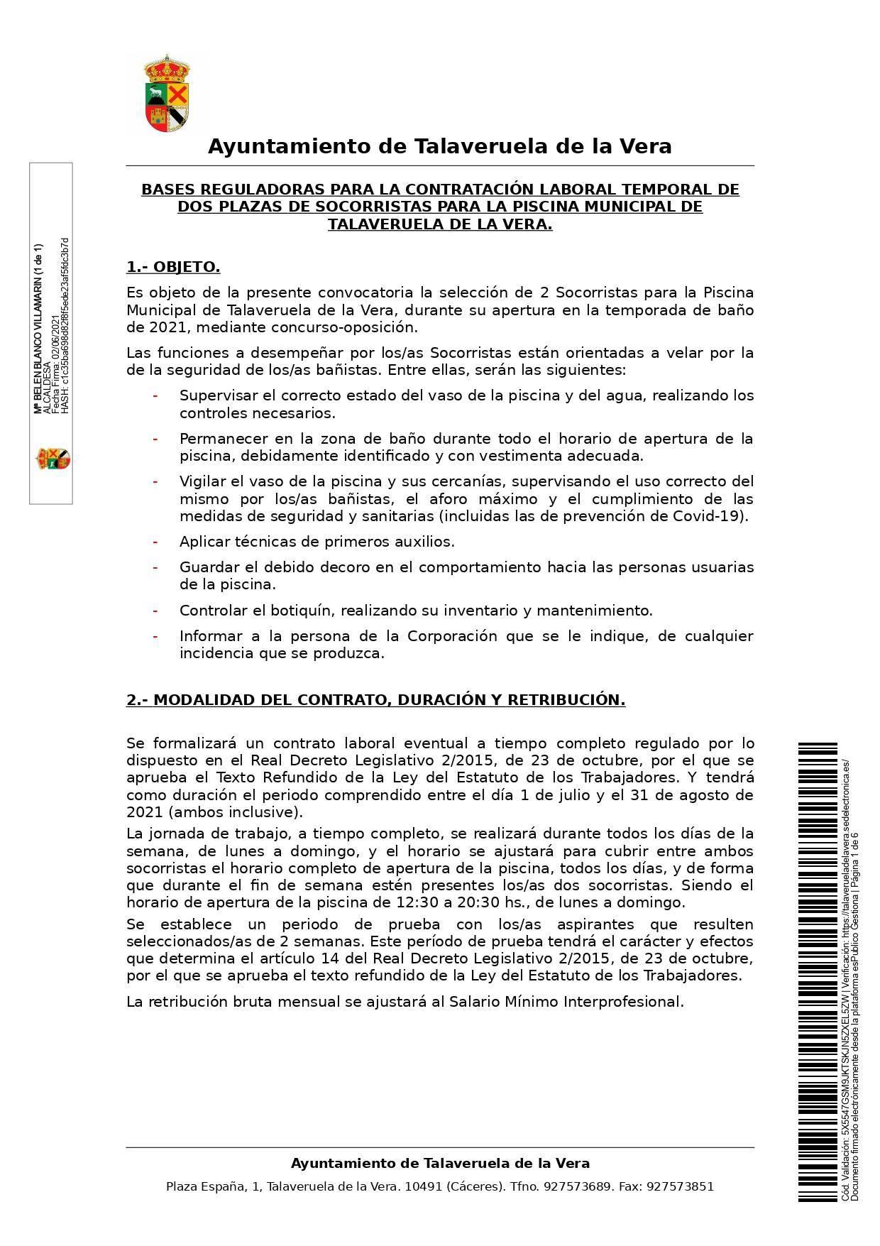 2 socorristas (2021) - Talaveruela de la Vera (Cáceres) 1
