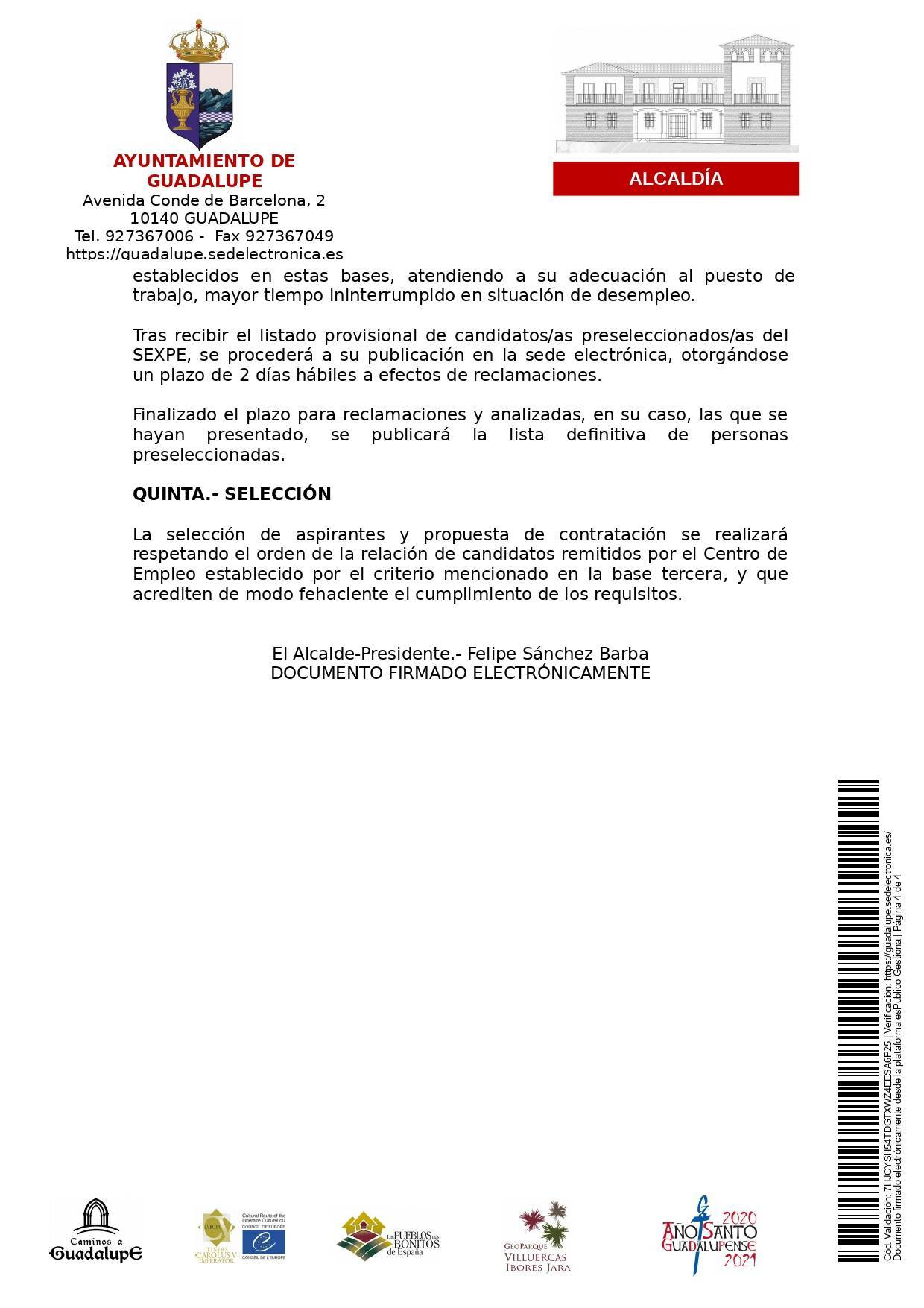 Auxiliar de ayuda a domicilio (2021) - Guadalupe (Cáceres) 4