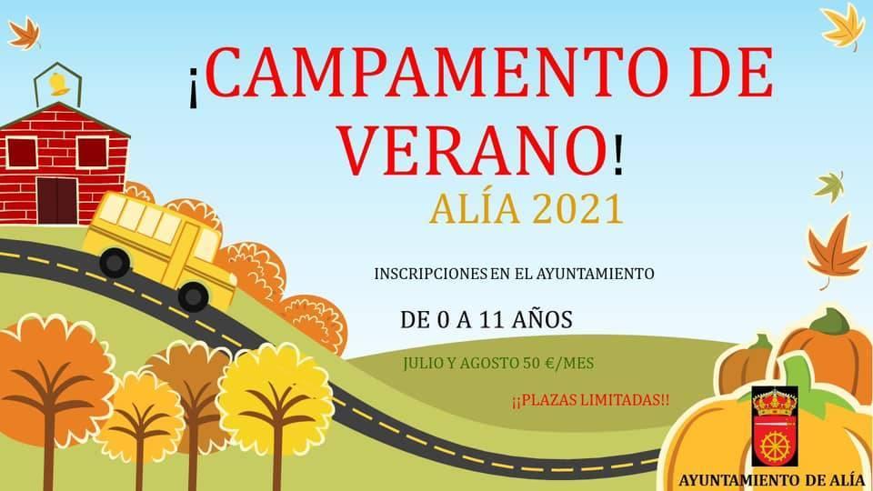 Campamento de verano (2021) - Alía (Cáceres)
