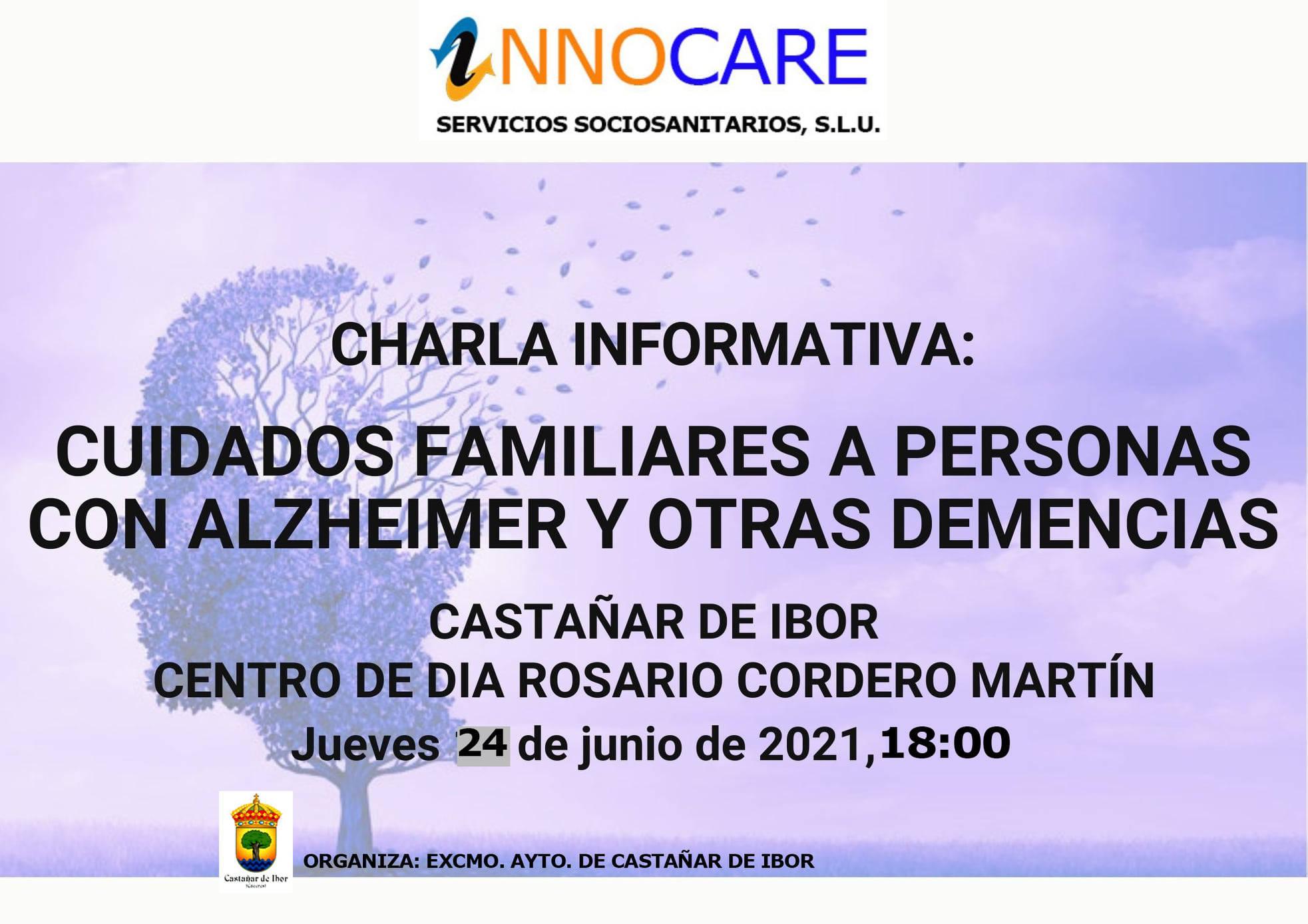 Charla informativa sobre el alzhéimer y otras demencias (2021) - Castañar de Ibor (Cáceres)