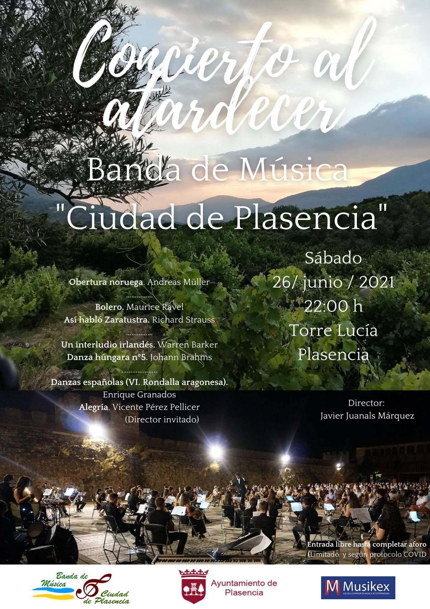 Concierto al atardecer (junio 2021) - Plasencia (Cáceres)