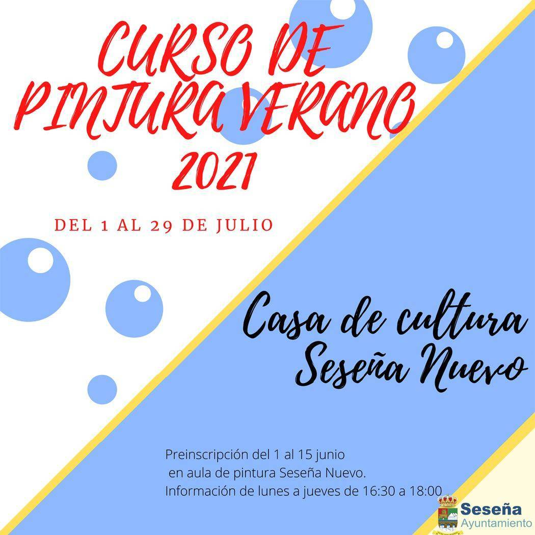 Curso de pintura de verano (2021) - Seseña (Toledo)