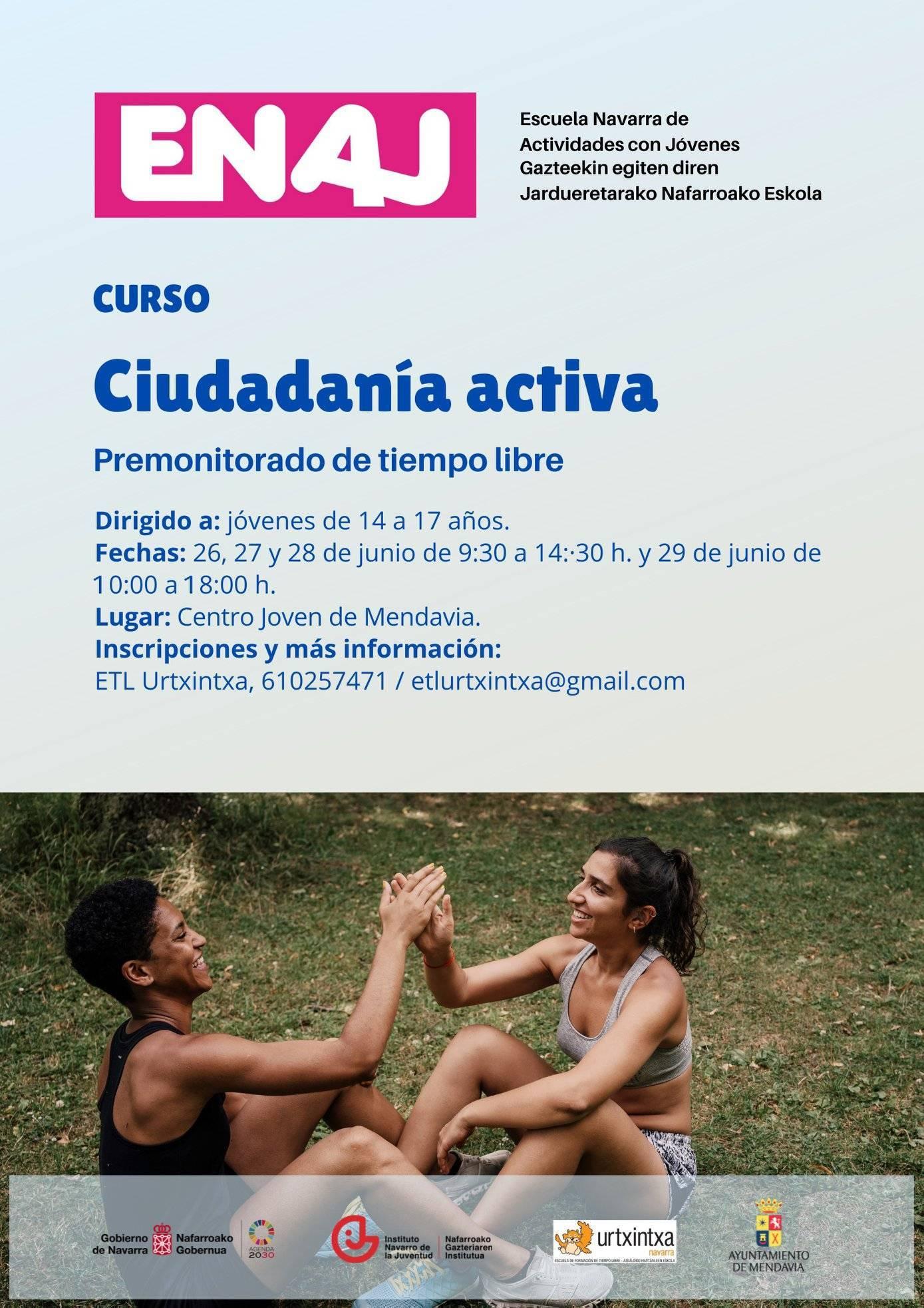 Curso de premonitorado de tiempo libre (2021) - Mendavia (Navarra)