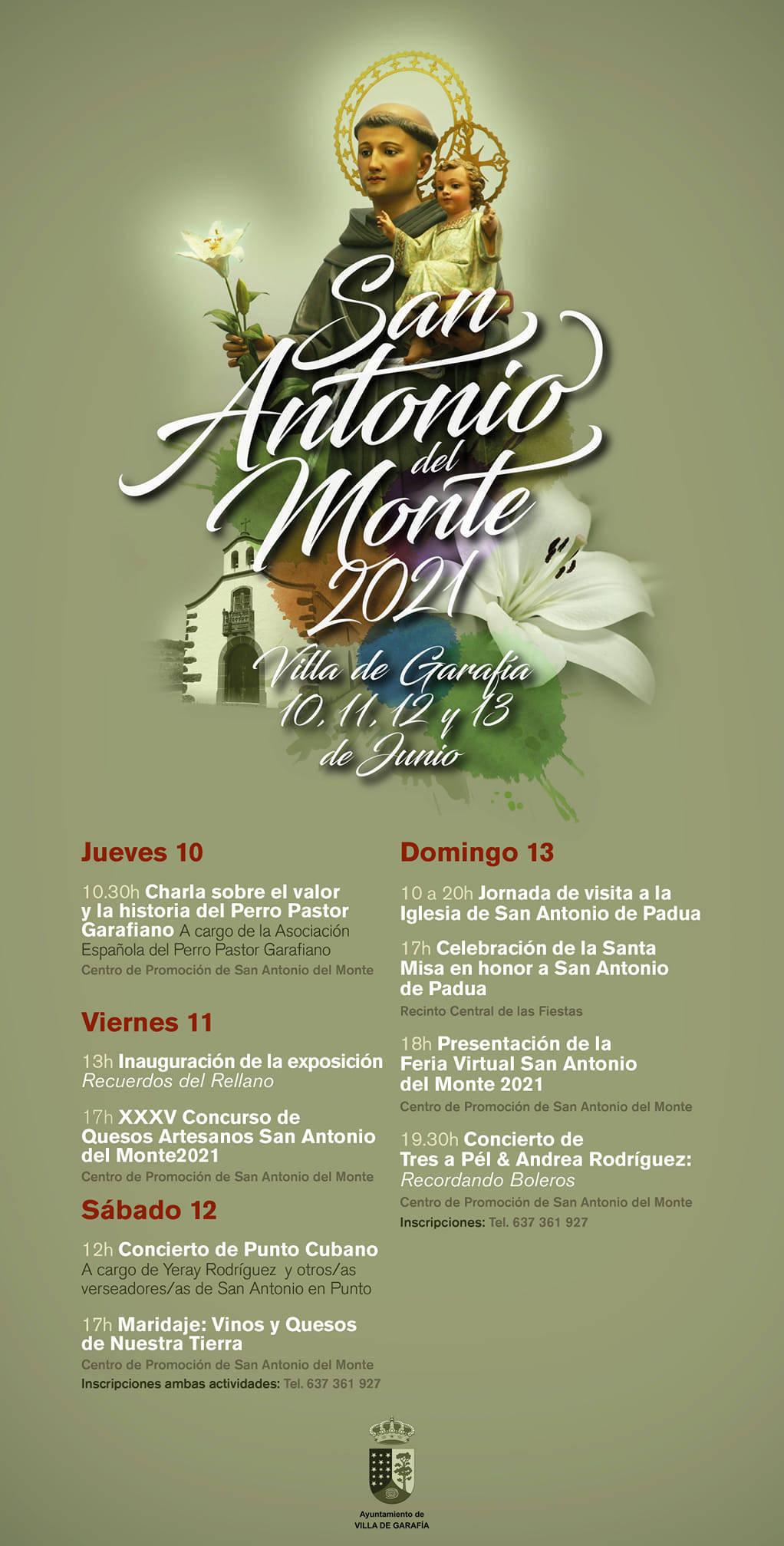 Fiestas de San Antonio del Monte (2021) - Garafía (Santa Cruz de Tenerife)