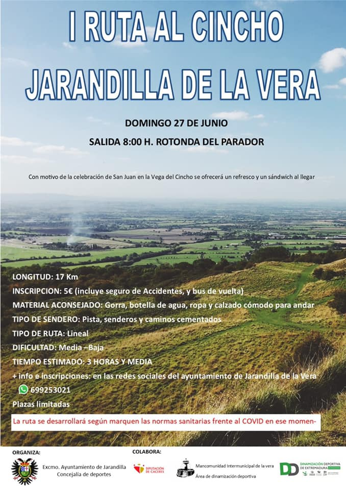 I ruta al Cincho - Jarandilla de la Vera (Cáceres)